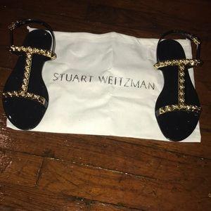 Stuart Weizman Jelrose studded sandal
